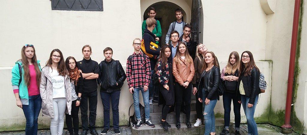 Mokiniai lankėsi Vilniaus universitete