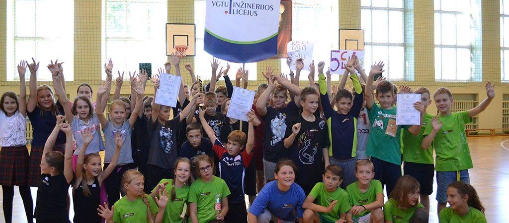 Mokiniai dalyvavo #BEACTIVE renginiuose