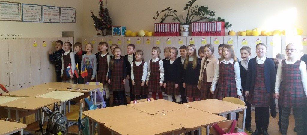 Video konferencija su mokiniais iš Rumunijos ir Kroatijos
