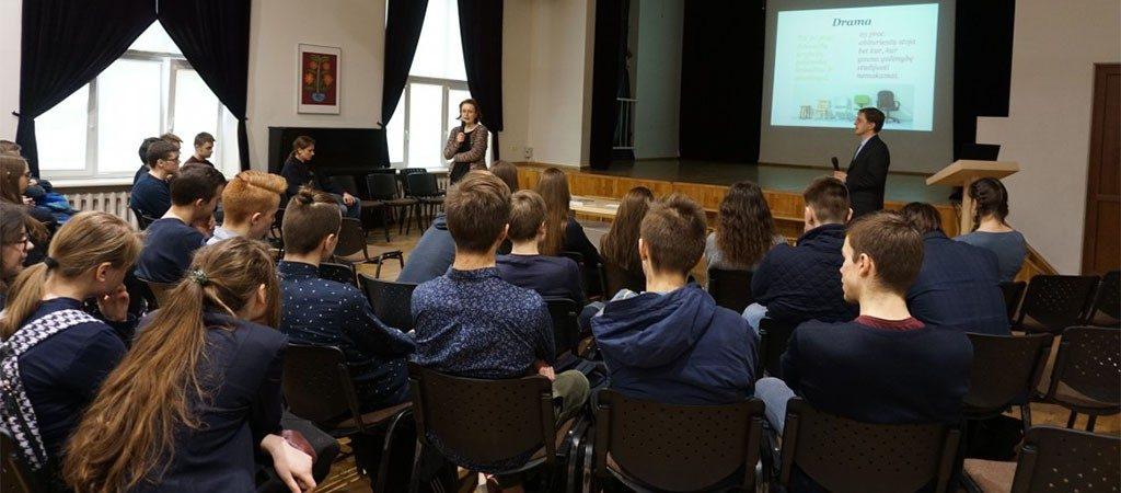 Ugdymo karjerai seminarai Vilniaus inžinerijos licėjuje