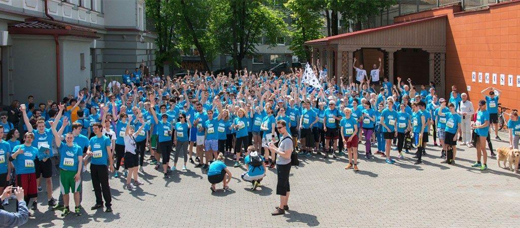 """""""We run Vilnius"""" 5 km bėgimas su """"Erasmus+"""" komanda"""
