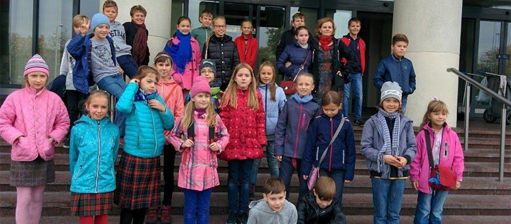 4 a klasės ekskursija į Vilniaus oro uostą