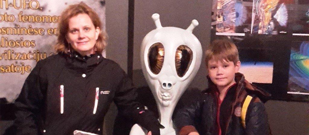 Ketvirtokai lankėsi Molėtų observatorijoje