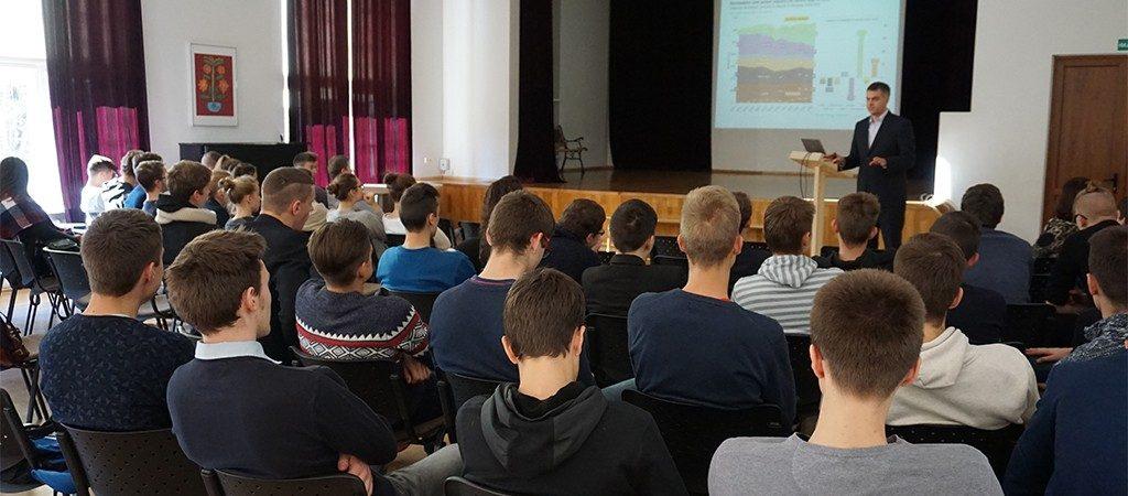 Netradicinė pamoka III gimnazinių klasių mokiniams