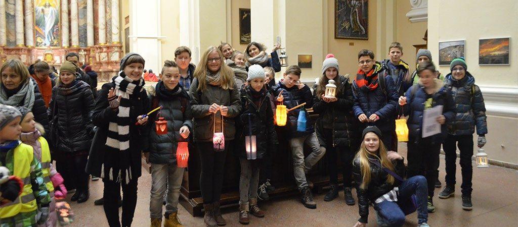Mokykla dalyvavo vokiškame Šv. Martyno dienos minėjime