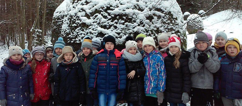 Antrokai lankėsi Europos parke ir dalyvavo edukacinėje pamokoje