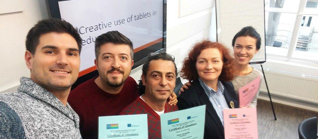 Erasmus+ projekto kursai mokytojams Prahoje