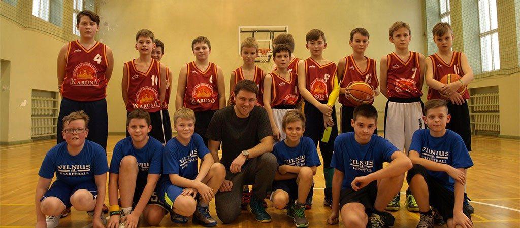 Puikus jaunųjų krepšininkų debiutas