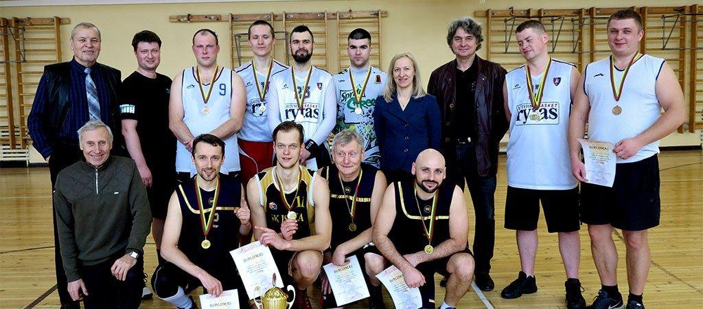 Mokytojų krepšinio turnyras