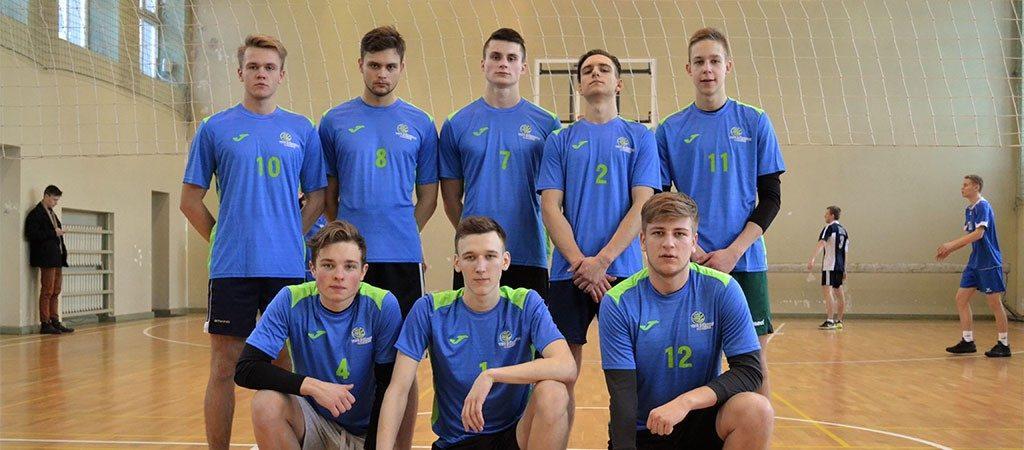 Vaikinų tinklinio rinktinės startas Vilniaus miesto gimnazijų žaidynių čempionate