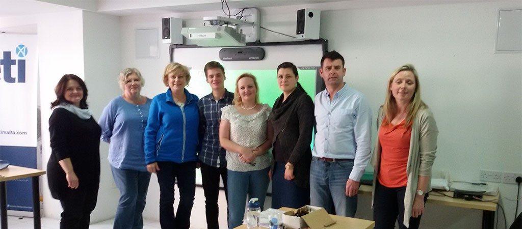 ERASMUS+ KA1 projekto kursai mokytojams Maltoje
