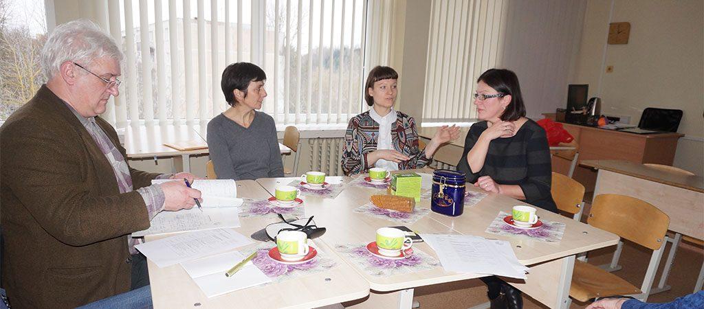 Licėjuje vyko atvira integruota matematikos ir vokiečių kalbos pamoka
