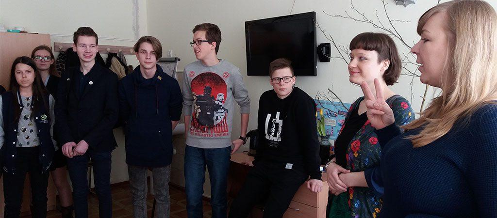 Mokiniai lankėsi Rukloje