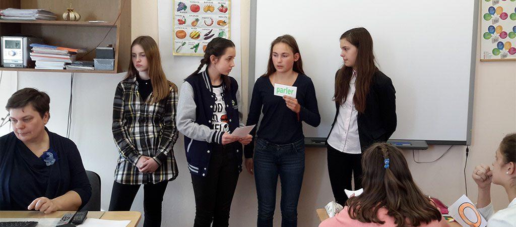 Šeštų klasių prancūzų kalbos konkursas