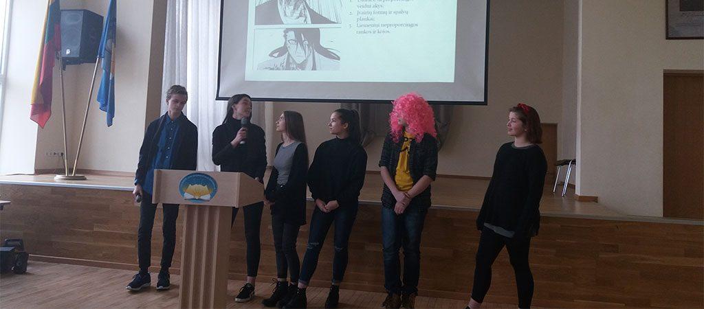 """Aštuntokai dalyvavo Vilniaus miesto 8–12 klasių mokinių konferencijoje """"Jaunimo subkultūros"""""""