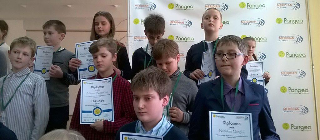 """Pergalė tarptautiniame matematikos konkurse """"Pangea 2017"""""""