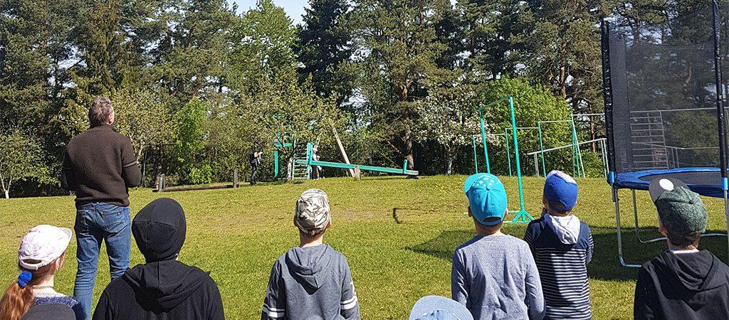 Mokinių išvyka į Antano Gedvilo kaimo turizmo sodybą