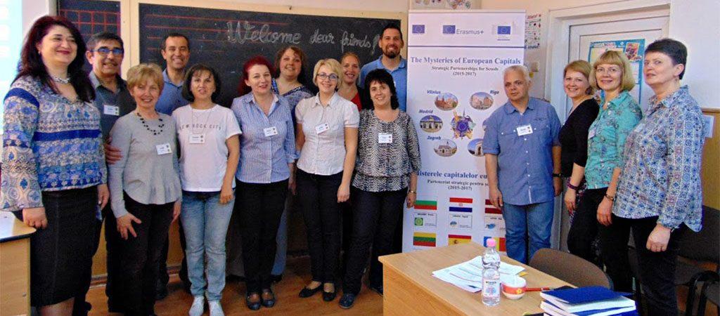 """ERASMUS+ projekto """"Europos sostinių paslaptys"""" baigiamasis partnerių susitikimas"""