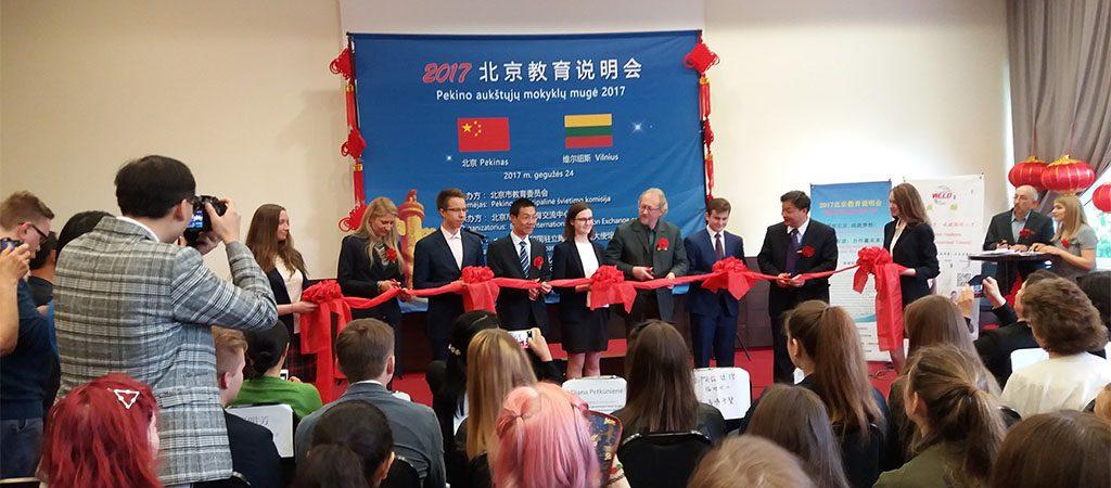 Pekino atstovai pristatė studijų galimybes Kinijoje
