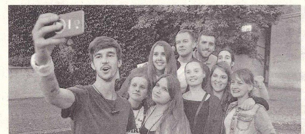 Mūsų dvyliktokė – Vokietijos spaudoje