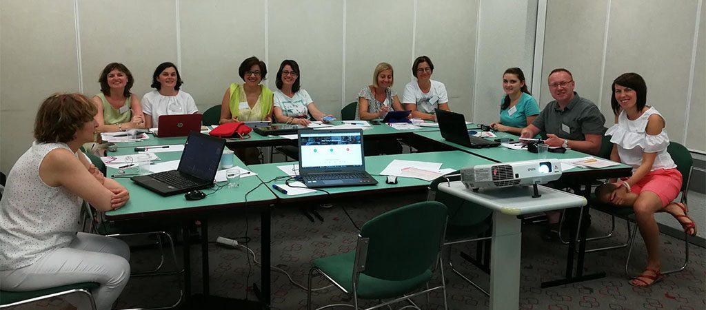 ERASMUS+ projekto kursai Portugalijoje