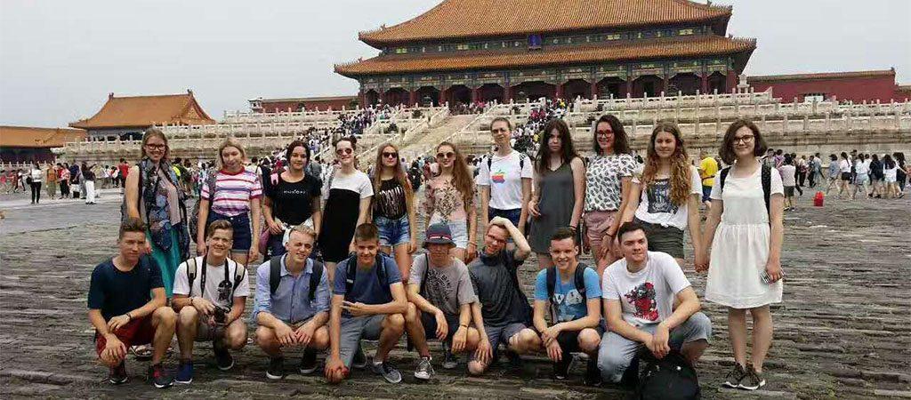VGTU inžinerijos licėjaus gimnazistų vasaros stovykla Kinijoje