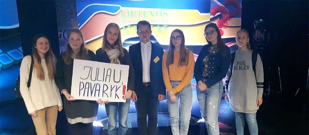 """Julius Naujokas dalyvavo projekte """"Lietuvos tūkstantmečio vaikai"""""""