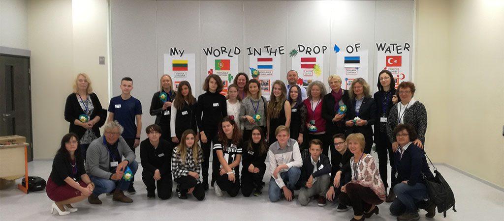 Erasmus+ projekto koordinatorių susitikimas Latvijoje