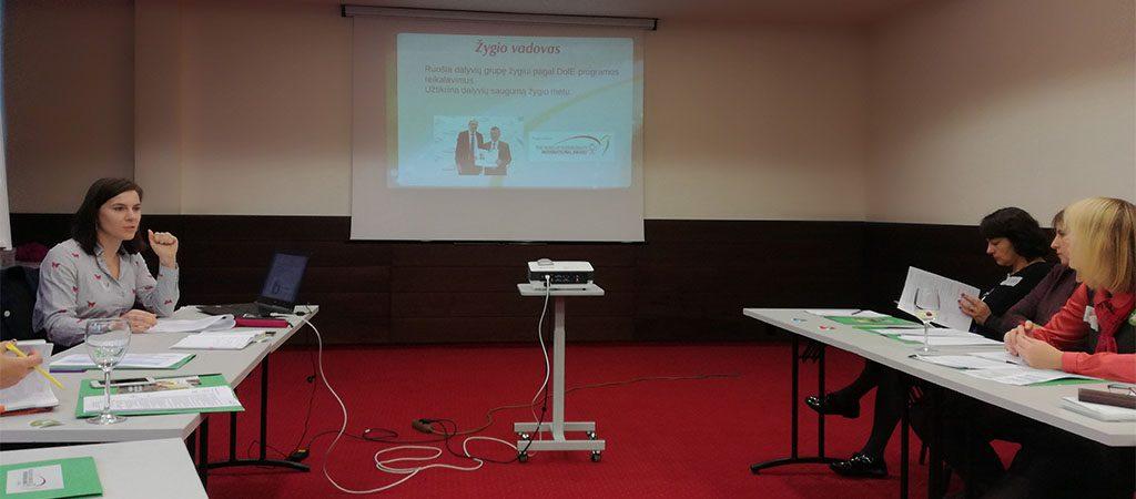 DofE programos koordinatorių susitikimas