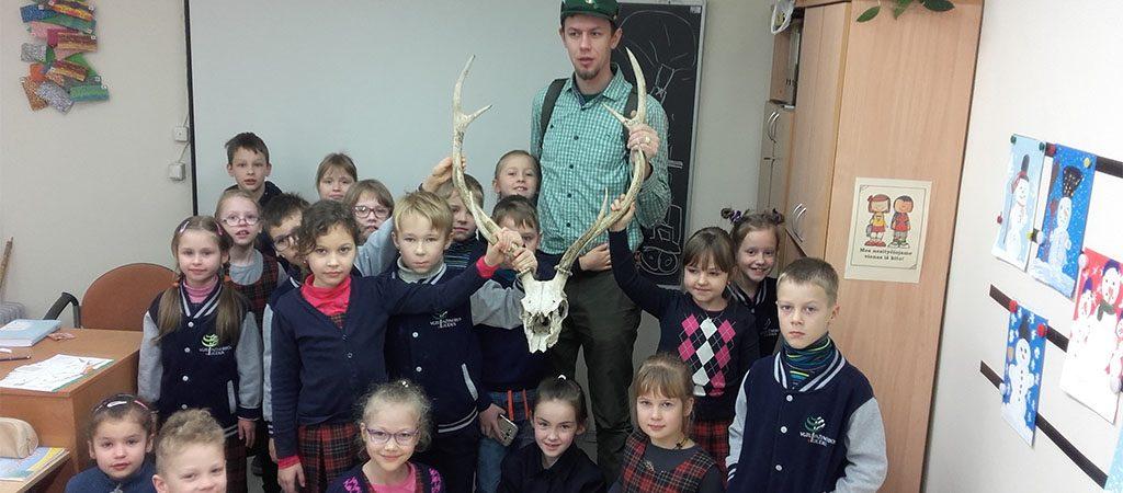 Pažintis su miškininku Raimundu Ereminu