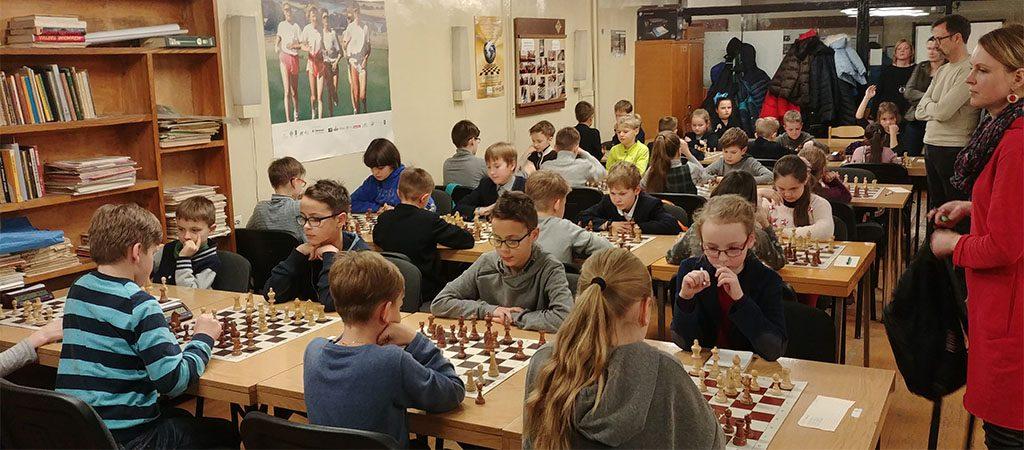 Pirma vieta Vilniaus miesto mokyklų šachmatų varžybose
