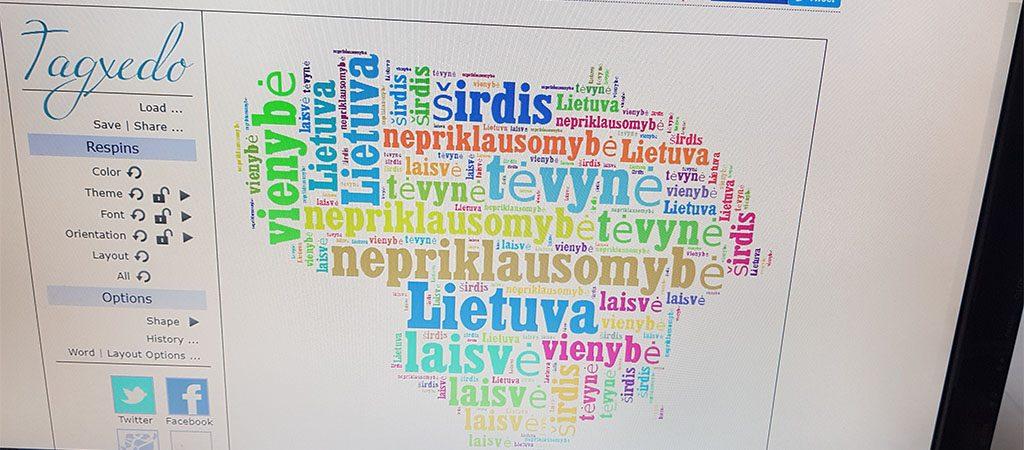 Projektinė veikla, skirta Lietuvos valstybės šimtmečiui paminėti
