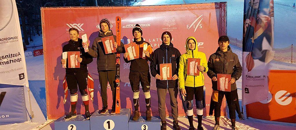 Kristijonas Merkys – tarptautinių slidinėjimo varžybų prizininkas