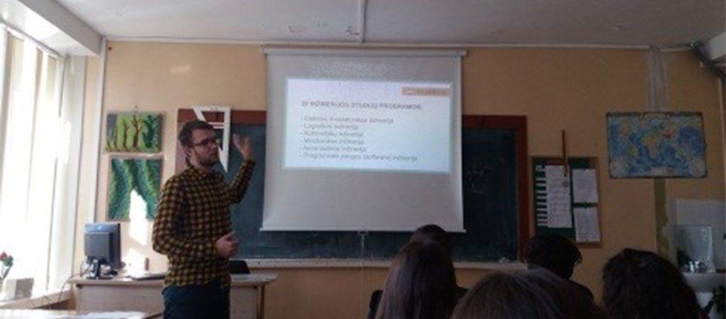 Inžinerinės krypties studijos užsienio universitetuose
