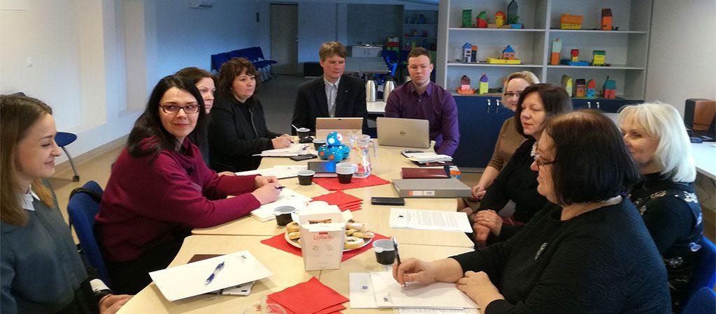 """Projekto """"Modernios technologijos švietimui"""" partnerių susitikimas"""