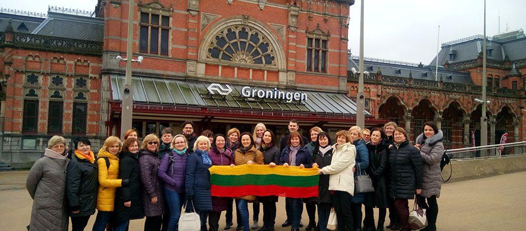 Edukacinė kelionė į Olandijos pradinio ugdymo mokyklas
