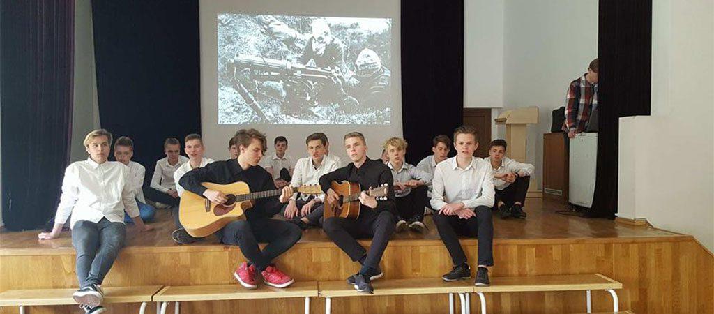 Licėjaus vaikinai – rusiškų dainų konkurso laureatai
