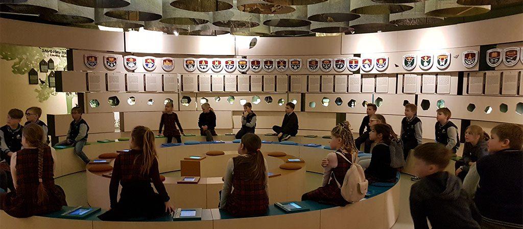 3a1 klasė lankėsi Nacionaliniame lankytojų centre