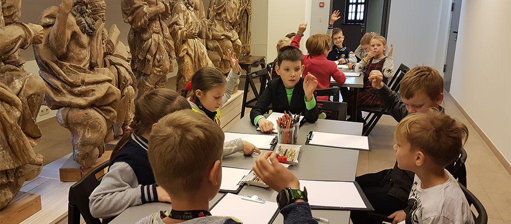 1a klasės ekskursija į Bažnytinio paveldo muziejų