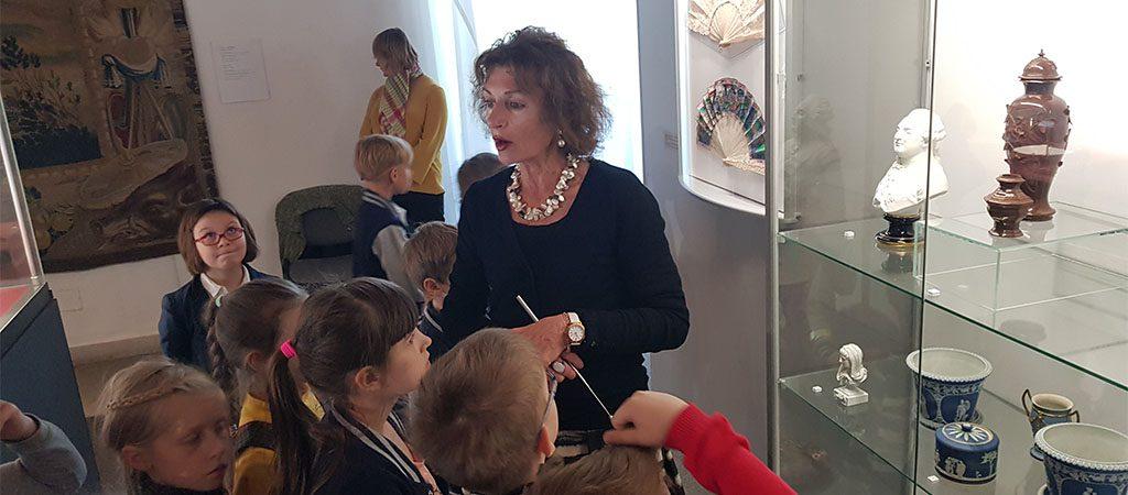 1a klasės ekskursija į Taikomosios dailės ir dizaino muziejų