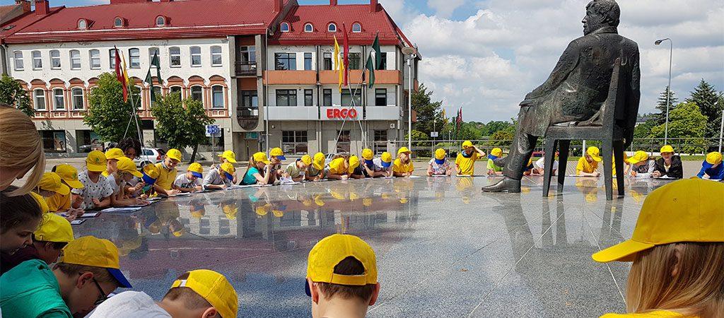 VGTU inžinerijos licėjaus trečiokai lankėsi pas draugus Panevėžyje