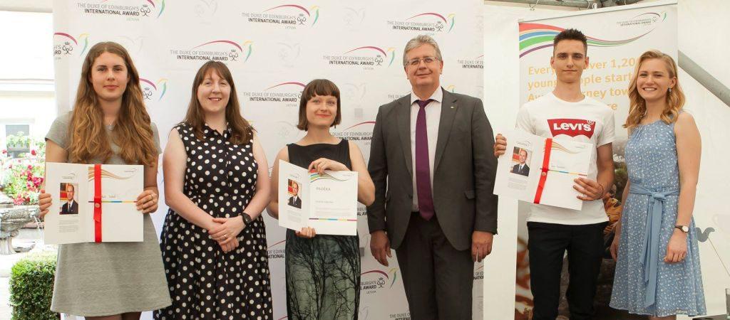 Edinburgo hercogo tarptautinių apdovanojimų programos ceremonija