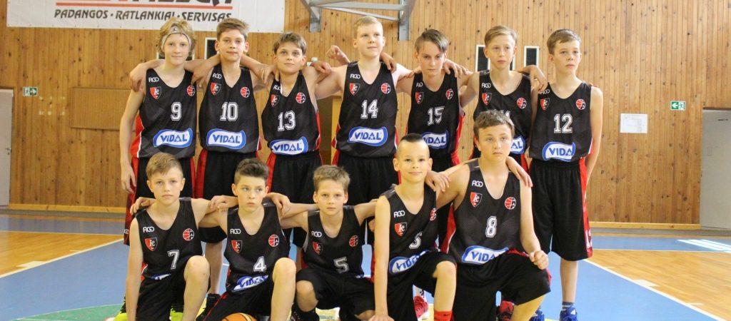 """""""BC """"Lietuvos rytas"""" – Vidal"""" čempionatą laimėjo VGTU inžinerijos licėjaus krepšininkai!"""