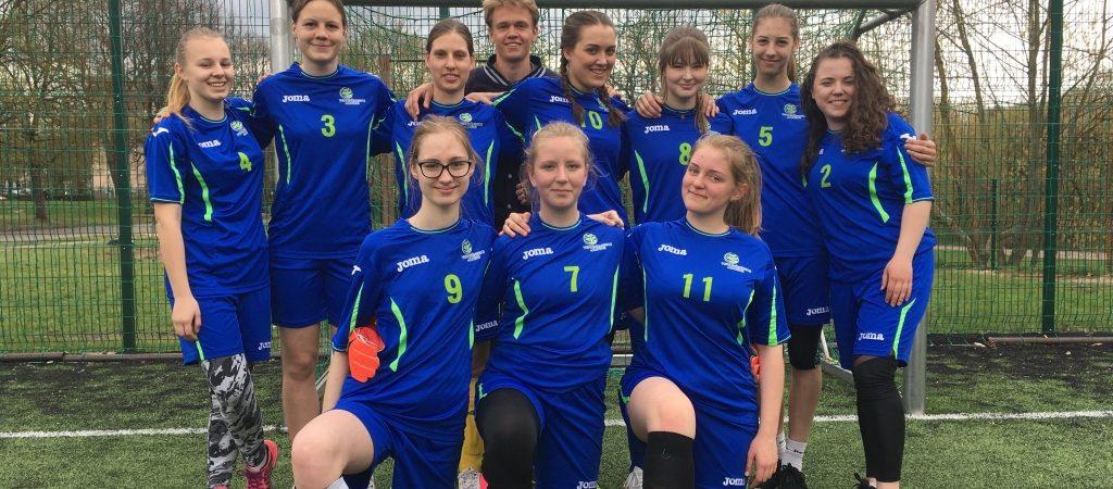 Vilniaus gimnazijų merginų 5 x 5 futbolo turnyras