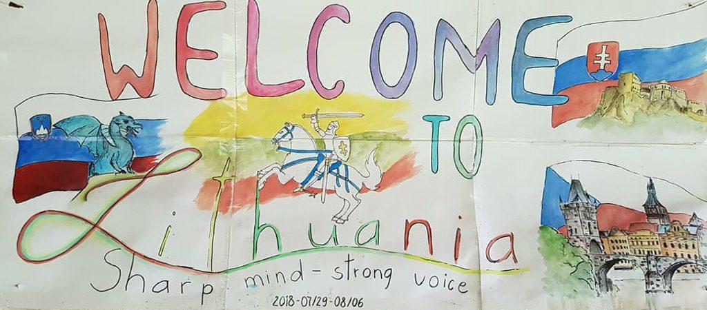 """Tarptautiniai jaunimo mainai """"Sharp mind – strong voice"""""""
