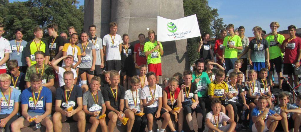 """Licėjaus auklėtiniai – """"Danske Bank"""" maratono nugalėtojai"""