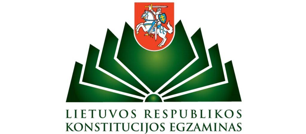 "Lietuvos Respublikos ""Konstitucijos egzaminas 2018"""
