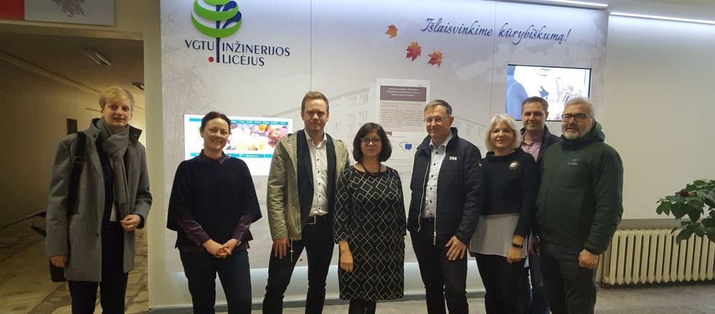 Susitikimas su norvegų įmonės FIRST Scandinavia atstovais
