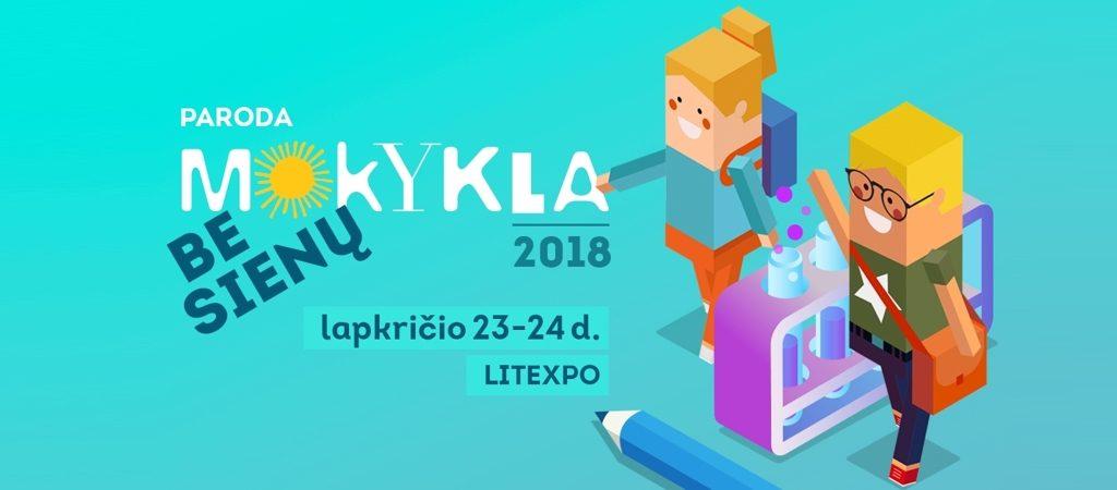 """VGTU inžinerijos licėjus parodoje """"Mokykla 2018"""""""