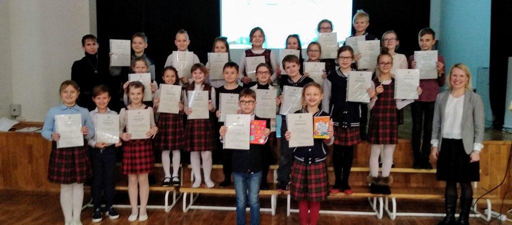 Anglų kalbos raiškiojo skaitymo konkursas